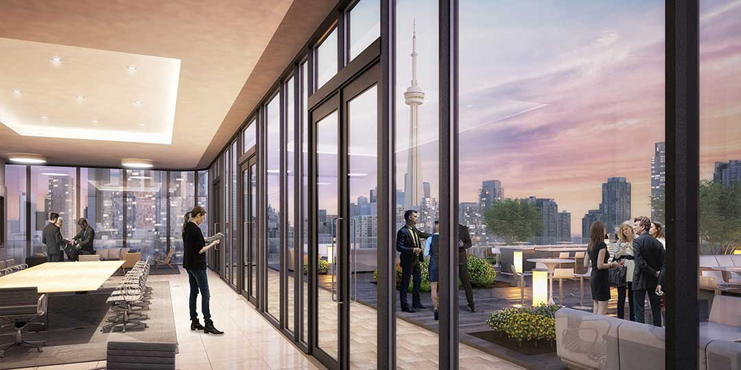 New Luxury High-Rise Condominium in Fashion District Neighbourhood